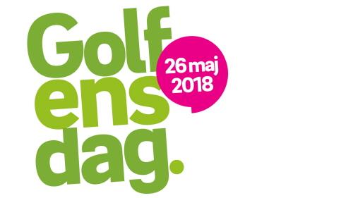 Logo Golfens dag den 26 maj 2018.