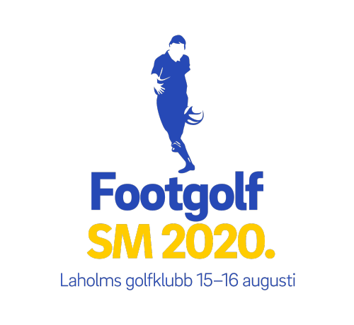 Footgolf-SM 2020 logga.
