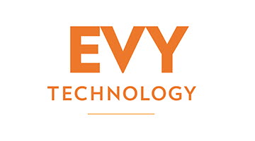 Partnerlogga Evy technology.